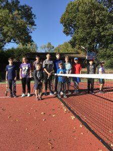 Autumn Half Term Tennis Camp 2018. So much fun in the sun