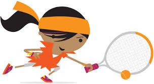 Mini tennis girl